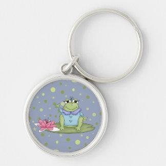 Chica dos de Froggie Llavero