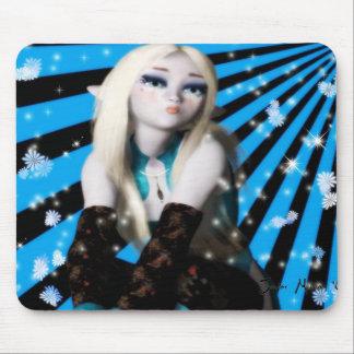 Chica Elfin Mousepad de Frost Alfombrilla De Ratón