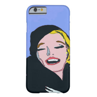 Chica en abrigo de pieles funda barely there iPhone 6