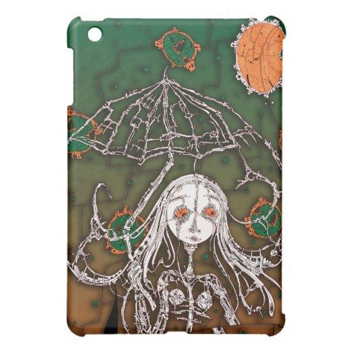 Chica: en caso del iPad de la lluvia