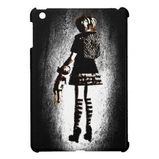 Chica en gótico iPad mini cárcasa