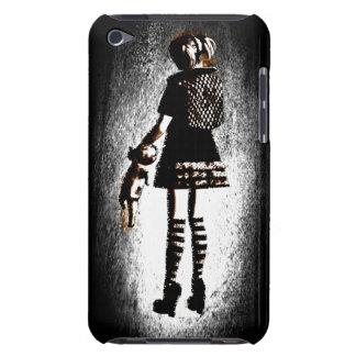 Chica en gótico iPod touch cárcasas