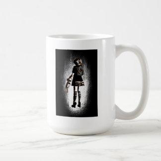 Chica en gótico taza clásica