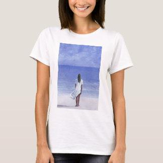 Chica en la playa 1995 playera