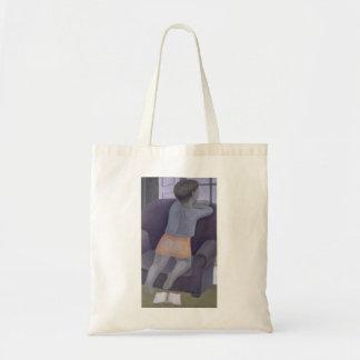 Chica en la silla 2002 bolsa tela barata