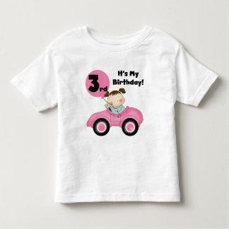 Chica en las 3ro camisetas y regalos del