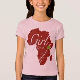 Chica en una misión - África Playeras