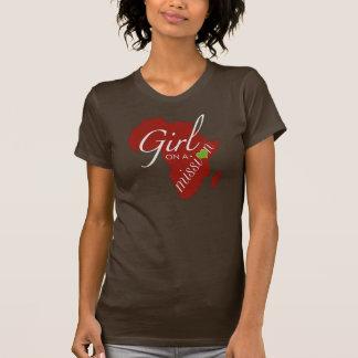 Chica en una misión - África Poleras