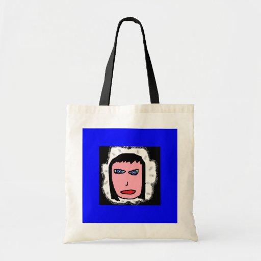 chica esquimal (2) bolsa lienzo