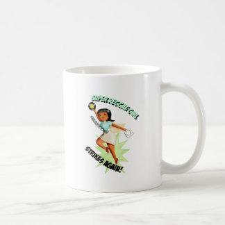 Chica estupendo del reggae taza