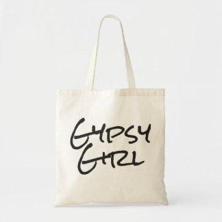 Chica gitano bolsa tela barata