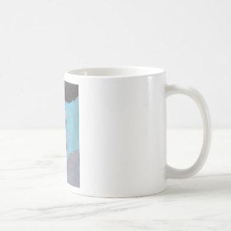 chica gótico con la antorcha taza de café