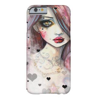 Chica gótico de la fantasía con el caso del iPhone Funda Barely There iPhone 6