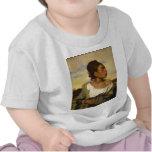 Chica huérfano en el cementerio de Eugene Camisetas