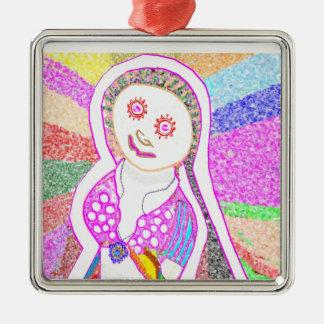 Chica ideal de SABRINA en rosa Ornaments Para Arbol De Navidad