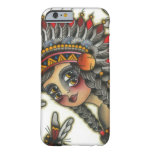 chica indio 2 funda de iPhone 6 barely there