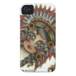 chica indio 3 Case-Mate iPhone 4 protector