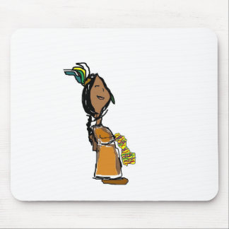 Chica indio mousepads