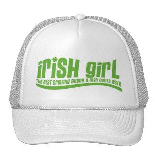 Chica irlandés gorras de camionero