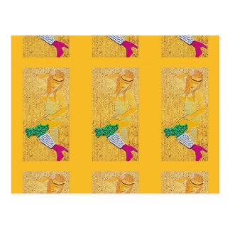 Chica italiano de las pastas tarjetas postales