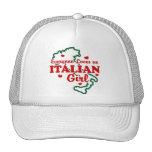 Chica italiano gorra