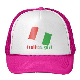 Chica italiano gorro