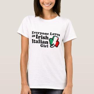 Chica italiano irlandés playera