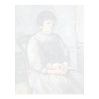 Chica joven con la muñeca de Paul Cézanne (la Membrete