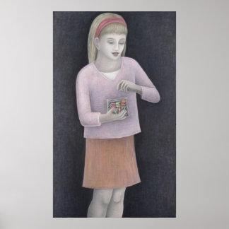 Chica joven con los dulces 2007 póster