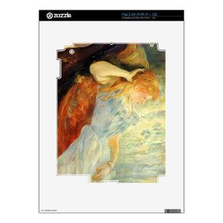Chica joven que descansa por Berthe Morisot Skin Para El iPad 2