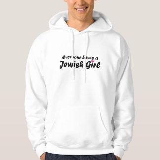 Chica judío sudadera