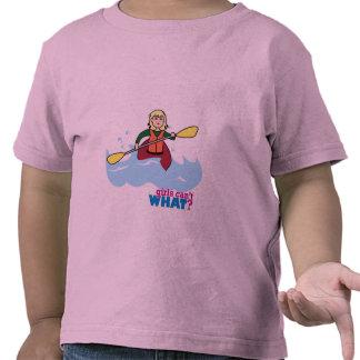 Chica Kayaking - luz/Blonde Camiseta
