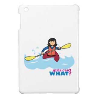 Chica Kayaking - medio