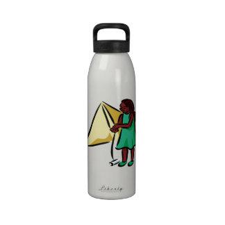 Chica Kiting Botallas De Agua
