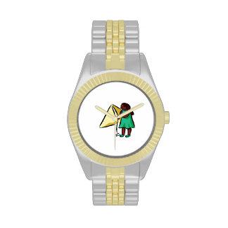 Chica Kiting Reloj