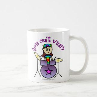 Chica ligero del batería taza