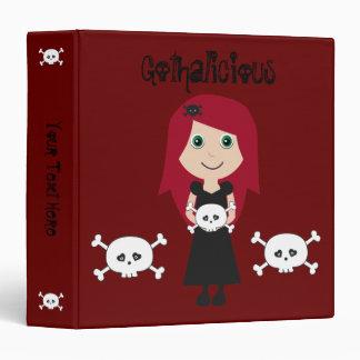 Chica lindo del gótico del Redhead de Gothalicious