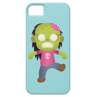 Chica lindo del zombi del dibujo animado iPhone 5 fundas