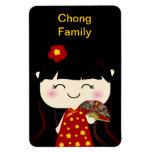 Chica lindo Squeable del chino tradicional de Kawa Iman