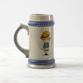 Chica lindo taza