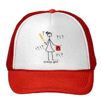 Chica loco gorras