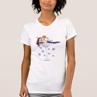 Chica mágico Martini Camisetas