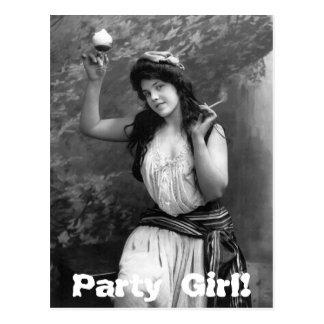 Chica marchosa, 1902 tarjetas postales