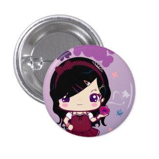 Chica Mayumi de Harajuku Pin Redondo De 1 Pulgada