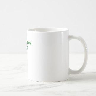 Chica meridional taza de café