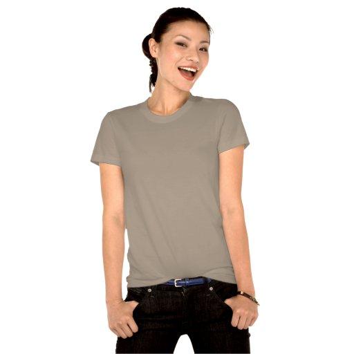 Chica modelo retro del mecánico de coche de Gil El Camisetas