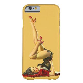 Chica modelo retro funda barely there iPhone 6