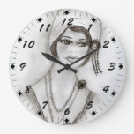 Chica moldeado de la aleta relojes