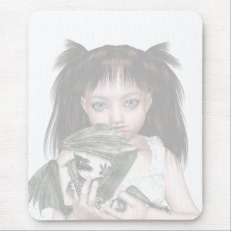Chica Mousemat del dragón Mouse Pad