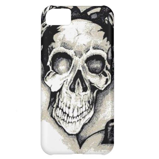 Chica muerto del punk rock funda para iPhone 5C